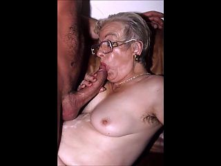 Sexy grannies get spanked