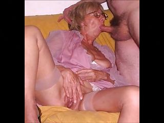 grannies and boys sex, granny blowing